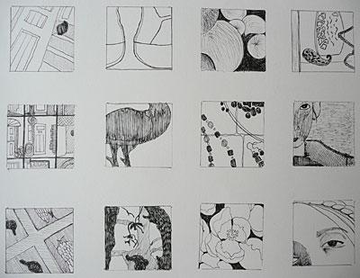 framed shapes