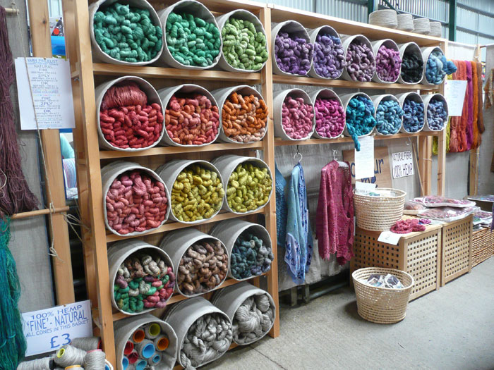 Knitting Supplies Storage Ideas : Yarn lovefibre colour to touch