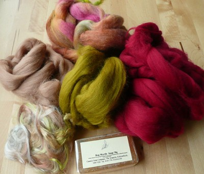 fibres and soap