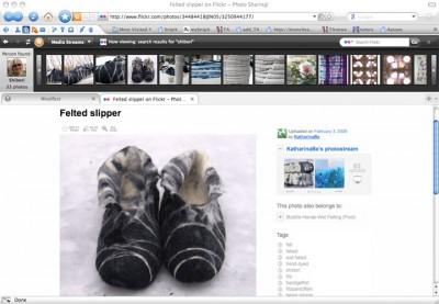 from media bar to Flickr
