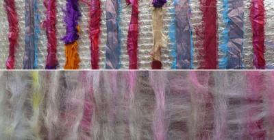 sari ribbon nuno felt