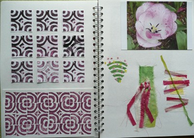 sketchbook work from tulip image