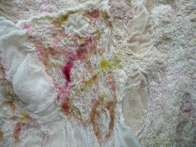 rose nuno wrap detail