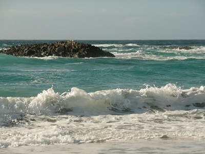 waves at Balevullin, Tiree