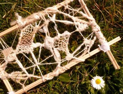 knotting and needleweaving