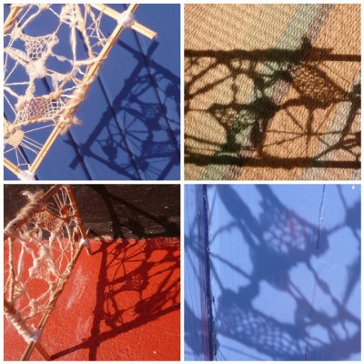 textile structure and shadows