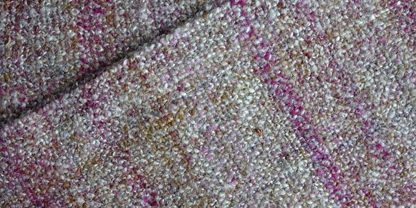 Wet finishing a handspun scarf