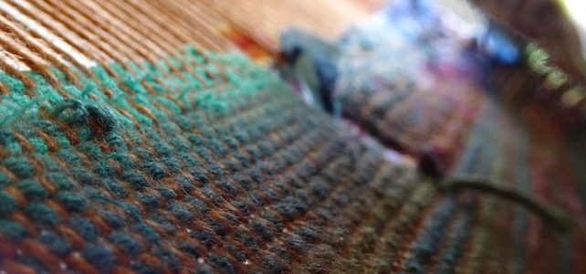 Weaving with mirrors – playful doubleweave