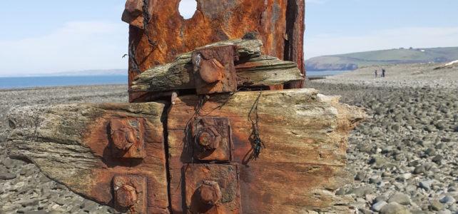 rusted groyne